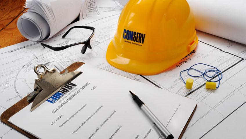 construction safety still life